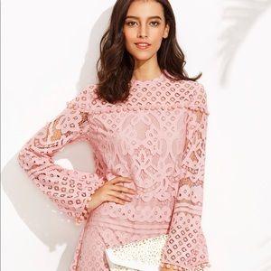 🔥 SALE 🔥 Pink Lace Dress NWT